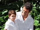 Eriberto Leão e Luana Piovani contam planos para o Dia das Crianças com os filhos