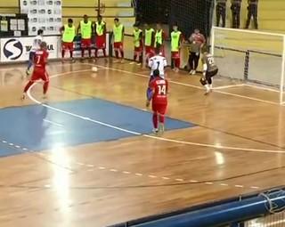 Três Rios vence Volta Redonda por 3 a 0 (Foto: Reprodução: Bom Dia Rio)
