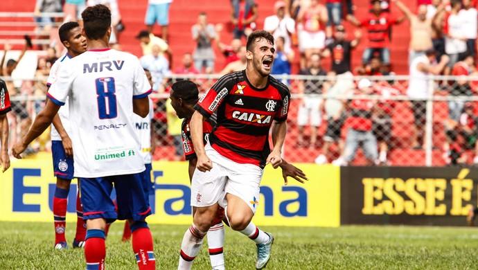 Flamengo x Bahia - Copinha (Foto: ALE VIANNA - Agência Estado)