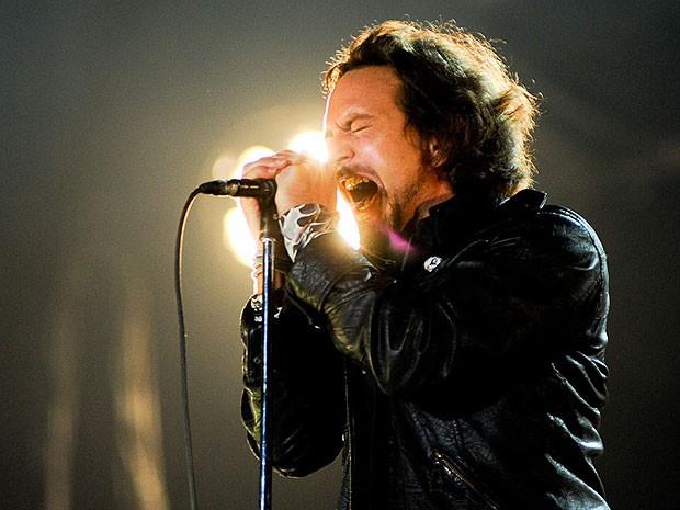 Eddie Vedder (Foto: Flávio Moraes/G1)