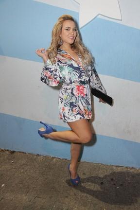 Geisy Arruda em festa em São Paulo (Foto: Paduardo/ Ag. News)