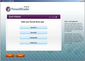 Interface Athena Firewall Browser