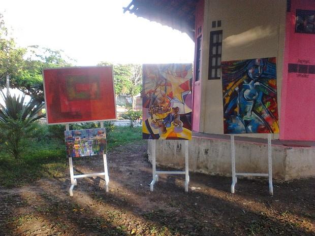 Gruta das Artes reúne trabalhos de artistas amapaenses (Foto: Divulgação)