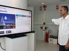 Brasileiros criam painel interativo para deficientes físicos com o Kinect