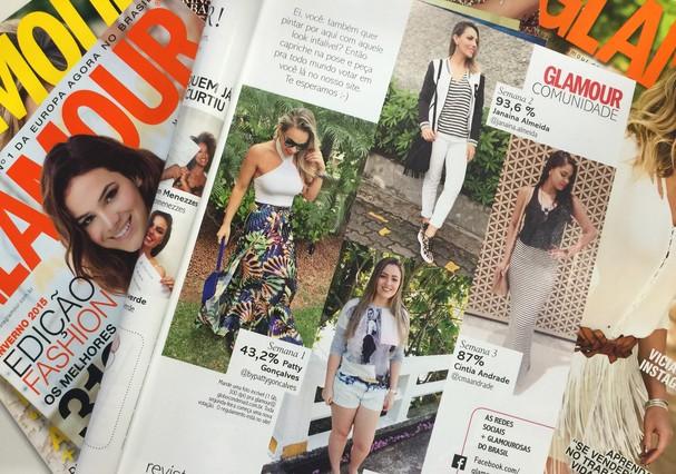 Essas são algumas das guapas que já apareceram nas nossas páginas (Foto: acervo)