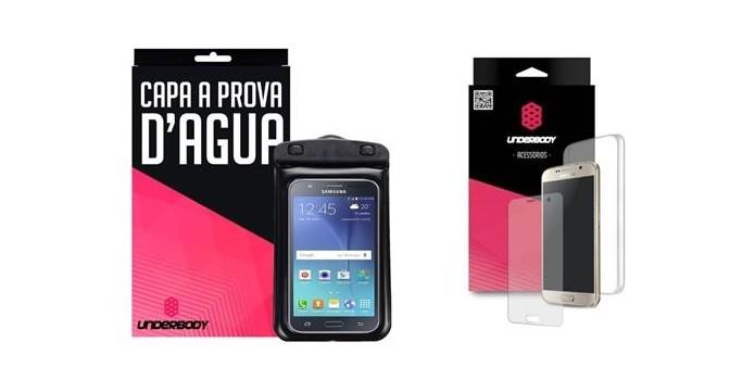 Capa à prova dágua para Samsung Galaxy J5 (Foto: Divulgação/Underbody)