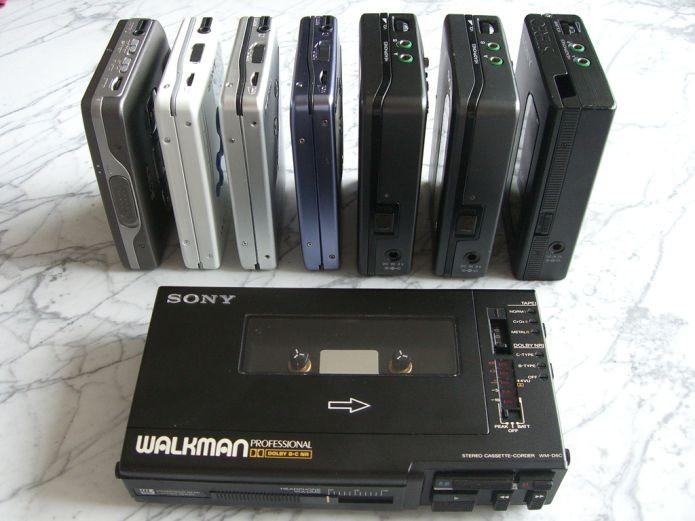 O toca-fitas da Sony teve diversos outros nomes, mas Walkman ganhou mais popularidade (Foto: Creative Commons/Flickr/Edvvc)