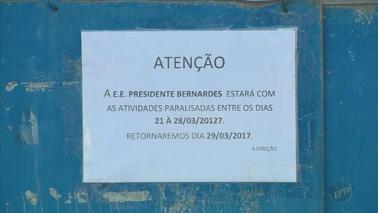 Greve dos professores atinge mais de 100 escolas estaduais do Sul de Minas