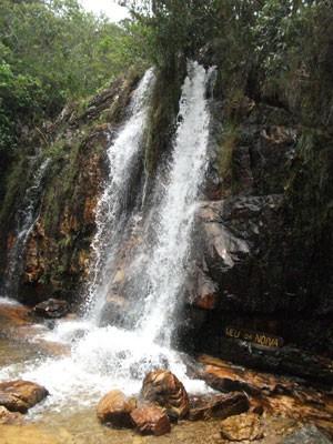Cidade de Alto Paraíso, Goiás, é conhecida pela diversidade em locais turísticos (Foto: Elisângela Nascimento/G1)