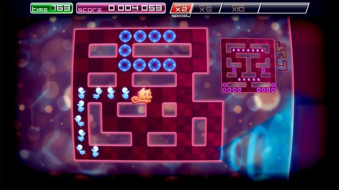 Pix the Cat lembra jogos clássicos como Snake, o jogo da cobrinha (Foto: Divulgação)