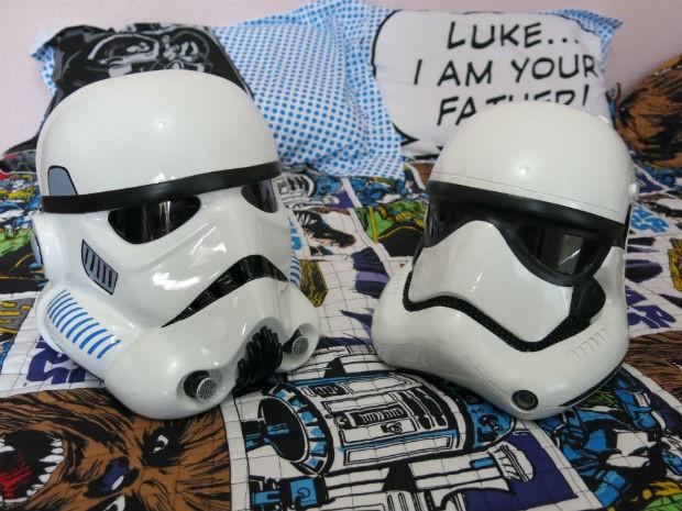 Stormtroopers formam a tropa de elite do Imperador Palpatine (Foto: Arquivo pessoal)
