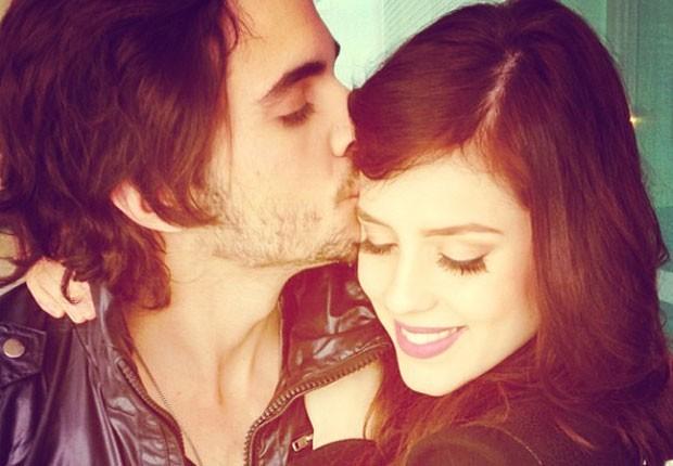 Foto romântica de Fiuk e Sophia Abrahão divulgada em agosto (Foto: Reprodução/Instagram)