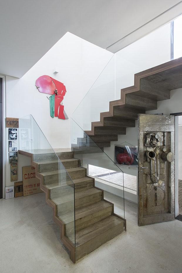 Artista plástico Caciporé Torres abre sua casa em São Paulo (Foto: André Klotz/Divulgação)