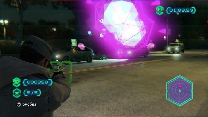 NVZN é jogo de realidade aumentada (Foto: Thiago Barros/Reprodução)