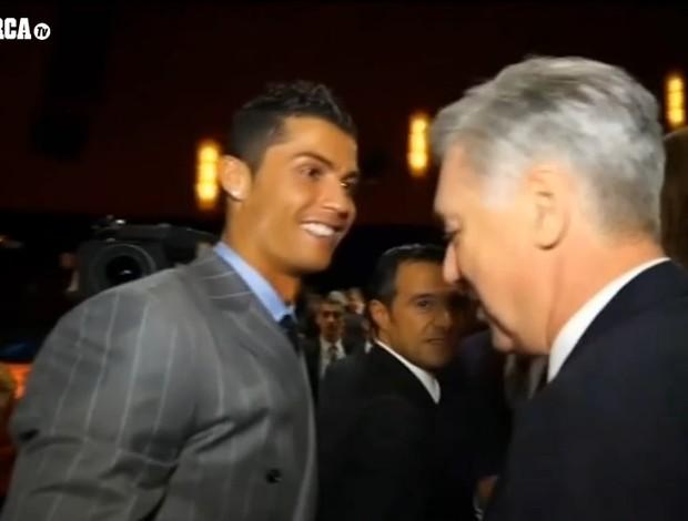 Cristiano Ronaldo reencontra Ancelotti