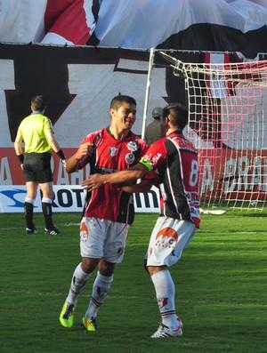 Joinville x Criciúma, gol de Tiago Real (Foto: Divulgação / JEC)