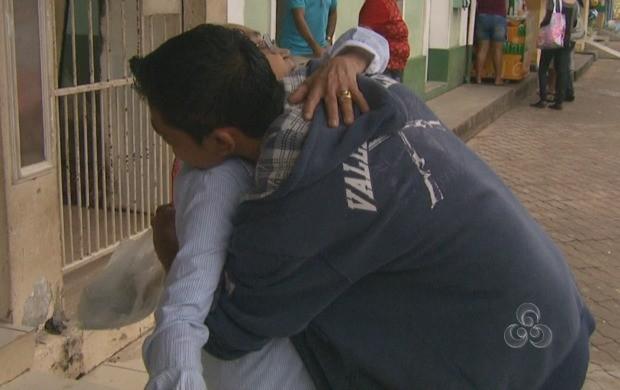 Um bom abraço representa qualidade de vida (Foto: Roraima TV)