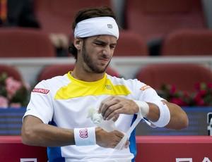 Feliciano Lopez lesão punho tênis ATP Pequim (Foto: AP)