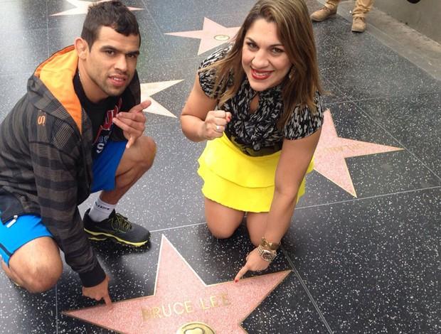 Barão e Bethe Correia em Los Angeles