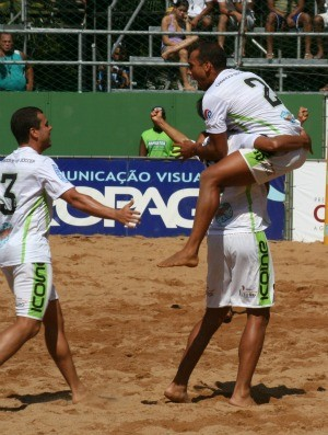 Cariacica Pedro Canário futebol de areia (Foto: Pauta Livre/Divulgação)