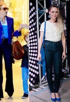 Jeans de cintura alta é aposta de Angélica, Grazi e mais famosas