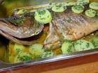 Veja como preparar tucunaré recheado com verduras
