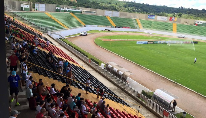Boa Esporte; Tombense; Melão; 9ª rodada; (Foto: Ernane Fiuza / EPTV)