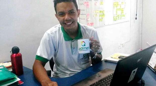 O empresário Ailton Pereira Rodrigues criou, há três anos, a startup Admei (Foto: Divulgação)