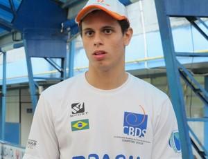 Atleta garantiu vagas nos jogos olímpicos (Foto: Juliana Vieira / GloboEsporte.com)