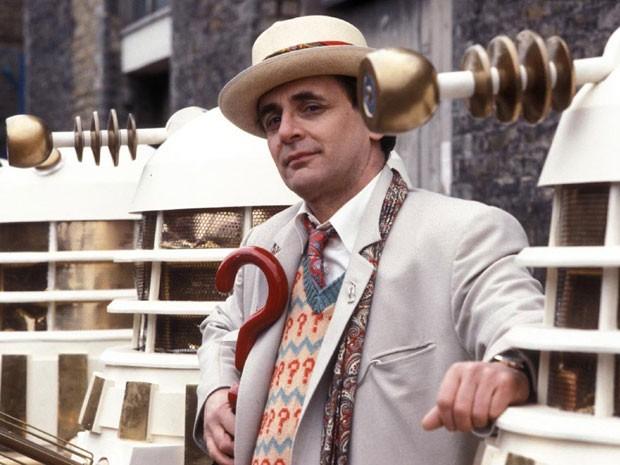 Sylvester McCoy em 'Doctor Who' (Foto: Divulgação)