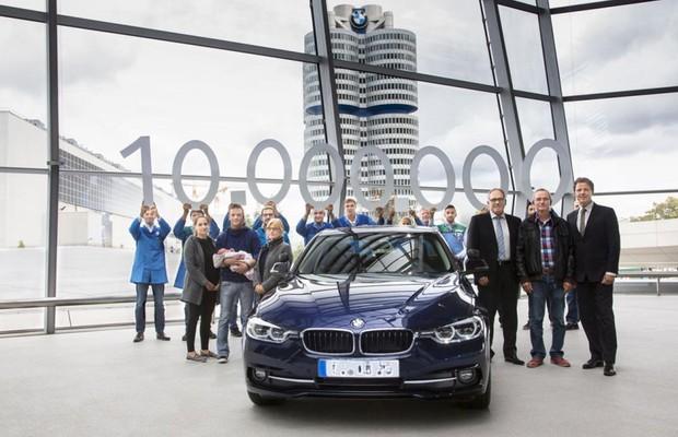 BMW Série 3 chega a marca de 10 milhões em vendas (Foto: Divulgação)