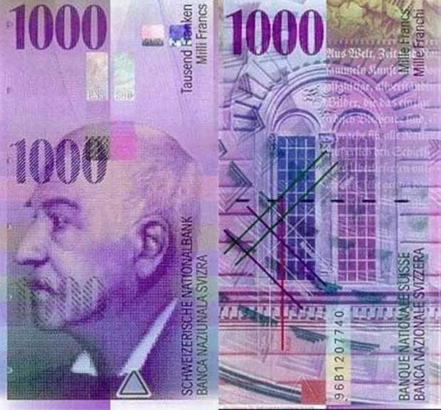 Menino ficou dinheiro achado na rua na Suíça (Foto: Reprodução)