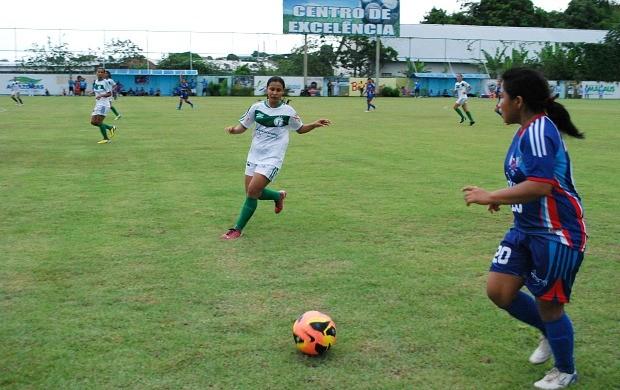 Iranduba x Nilton Lins - Campeonato Amazonense Feminino (Foto: Isabella Pina)