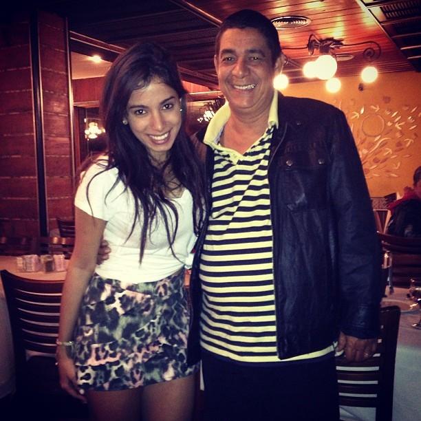 Anitta e Zeca Pagodinho (Foto: Instagram / Reprodução)
