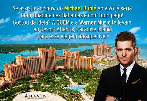 Michael Bublé - Concurso Cultural (Foto: Warner Music/QUEM)