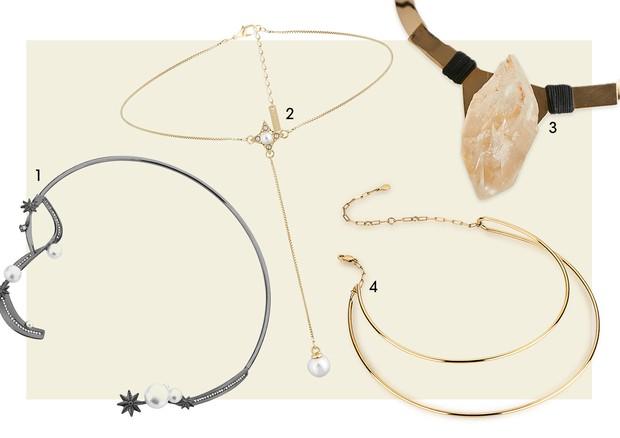 1. Carol Bassi Jewelry 2. Morana 3. Casa Mo para Mercado Itinerante 4. Samantha Abrão (Foto: Divulgação )