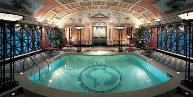 Spa do Hotel Principe di Savoia, membro Milanês da Dorchester Collection de hotéis de luxo pelo mundo (Foto: Reprodução)