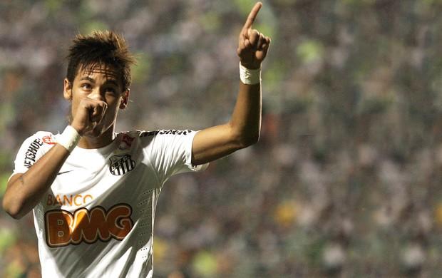 Neymar, Palmeiras x Santos (Foto: José Patrício / Agência Estado)