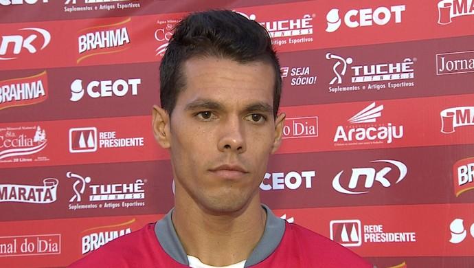 hiago, sergipe, entrevista (Foto: José Gilton / TV Sergipe)