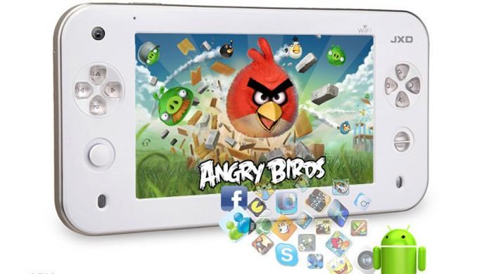 O JinXing Gaming Tablet é muito parecido com o controle tablet do Wii U, mas ainda passa como inspiração (Foto: Reprodução/PC World)