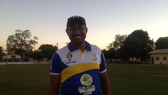 Técnico interino Wilsomar Sena está satisfieto com resultado dos jogos na Série D (Foto: Cyntia Miranda/Globoesporte.com)