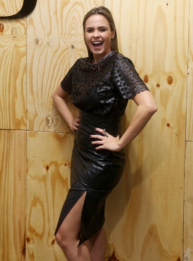 Ana Paula no SPFW N41 (Foto: Ricardo Leal)