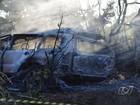 Casal morre carbonizado em acidente na GO-070, em Itapirapuã