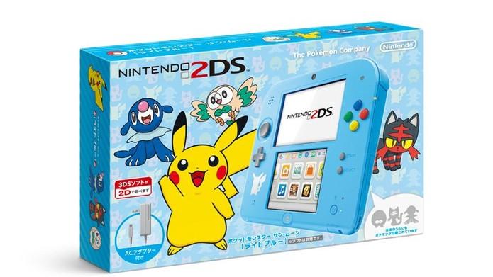 Jogo terá edição especial do Nintendo 2DS (Foto: Divulgação/Nintendo)