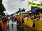 'Chuveirão' foi alívio para foliões da 'Banda', apesar da chuva em Macapá