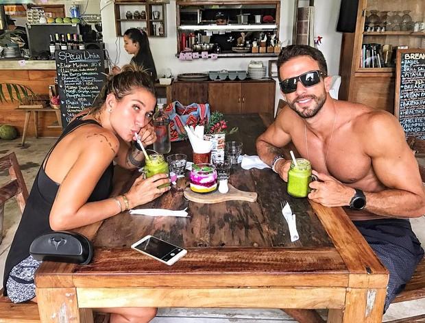 Gabriela Pugliesi e Erasmo Viana (Foto: Reprodução / Instagram)