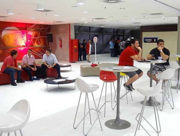 Arena Pernambuco inauguração (Foto: Chico Feitosa)
