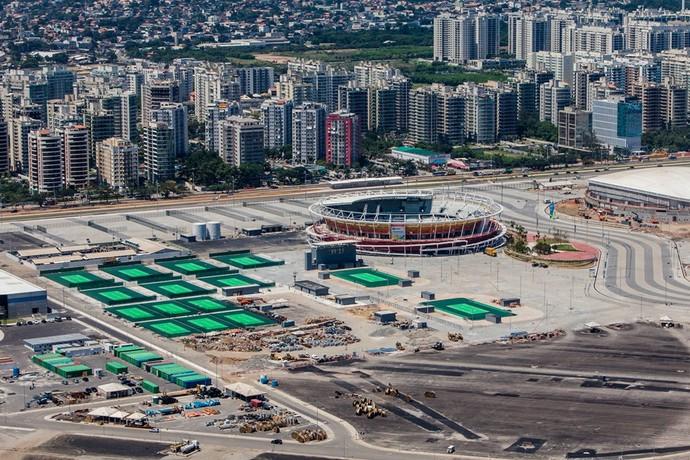 Centro de Tênis Parque Olímpico (Foto: André Motta/Brasil2016.gov.br)