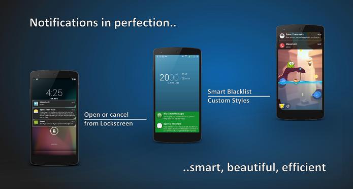 Floatify é o novo sistema de notificações para Android (Foto: Reprodução/Floatify)
