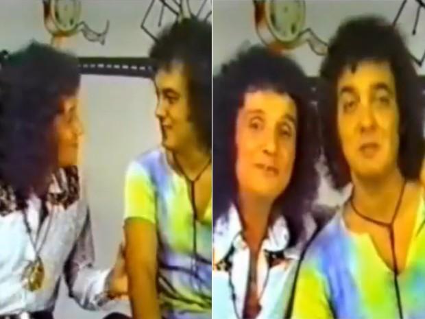 Amigos de longa data, Erasmo Carlos participa da primeiro especial do Rei  (Foto: TV Globo)